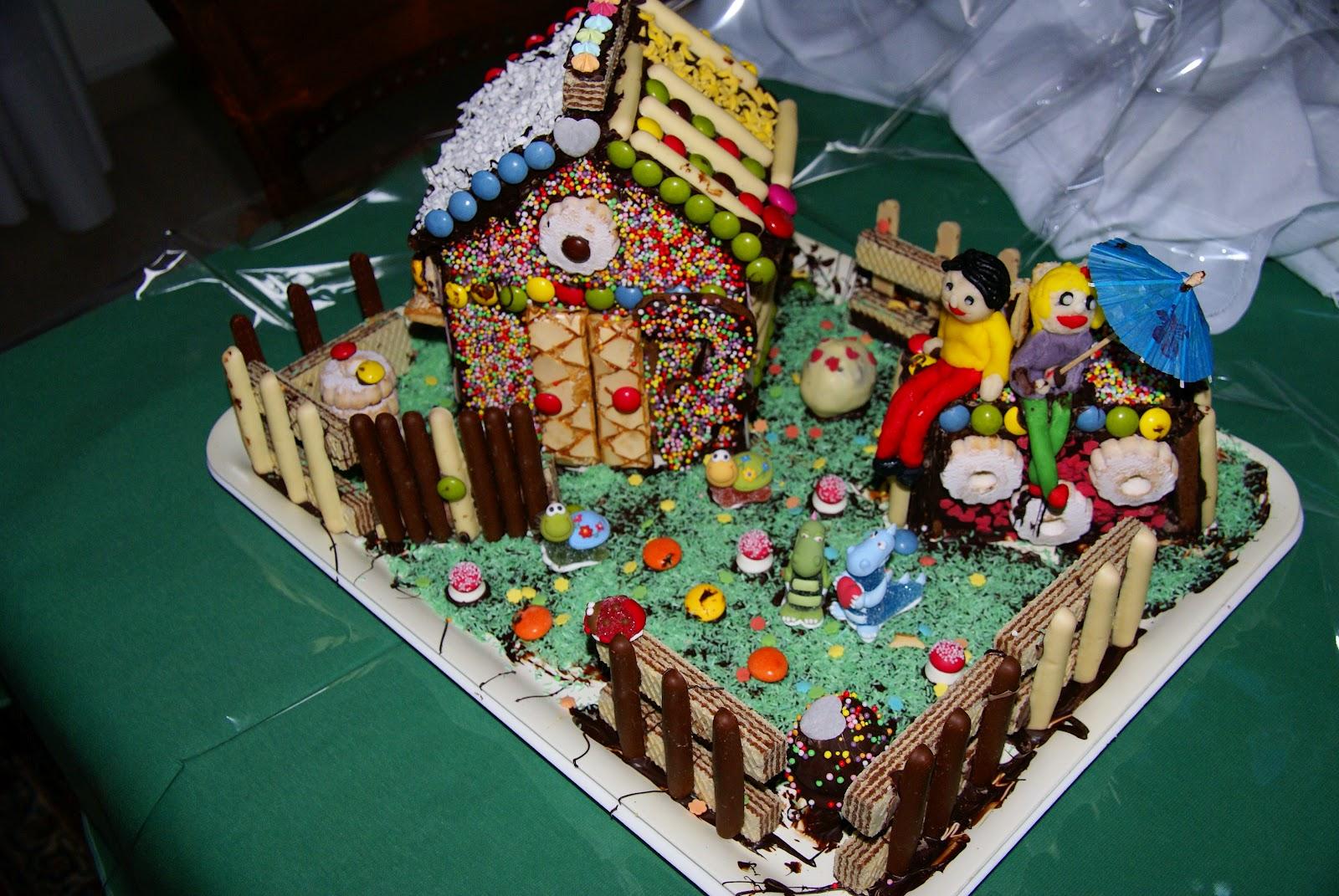 Casetta Di Natale Di Cioccolato : La casetta di cioccolato hansel e gretel i dolci si fanno con