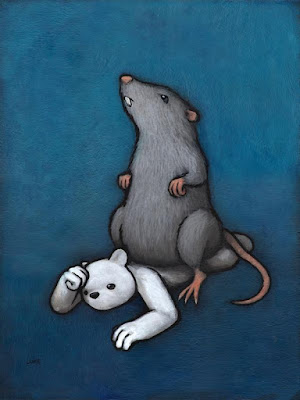 """The Rat"" Painting by Luke Chueh"