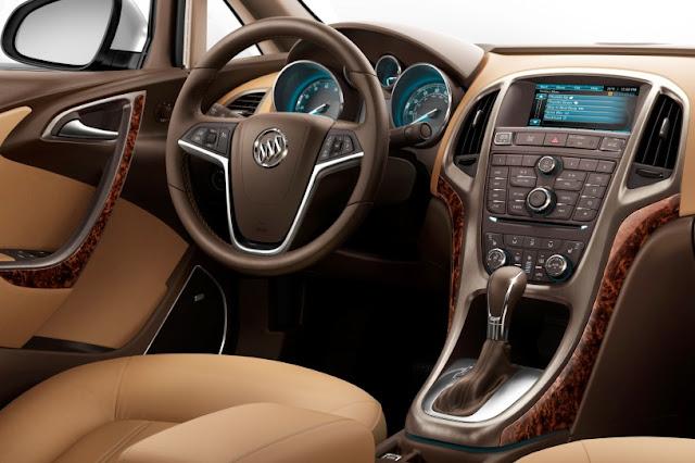 2015 New Level Buick Verano interior dashboard view