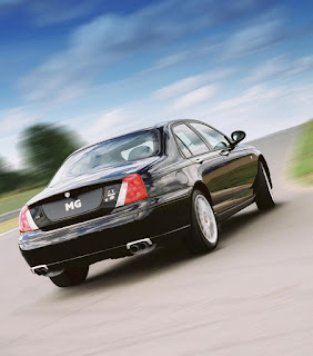 MG ZT also came in 260 V8 flavour shown here