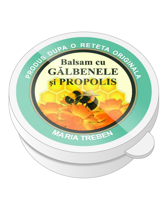 Balsam cu galbenele si propolis (uz extern)