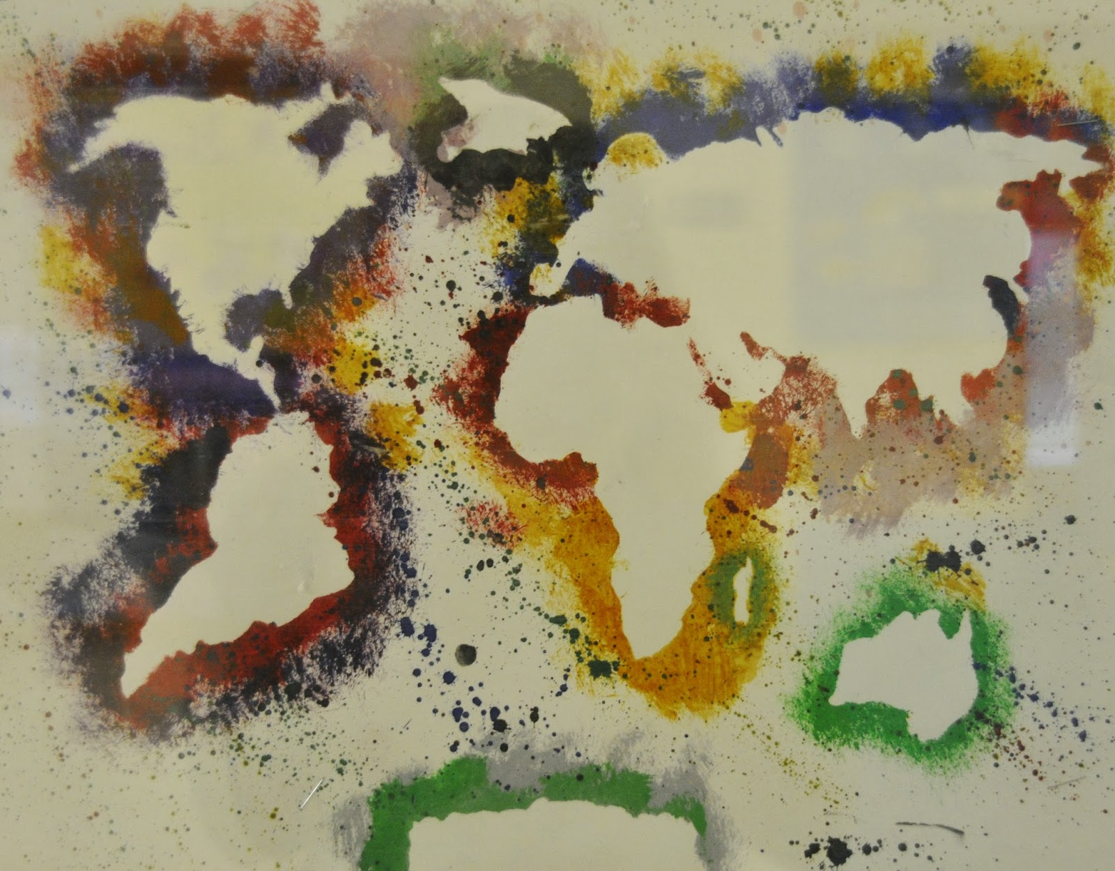Saatchi Art: Emotional Geography Painting by Carmelo Canales