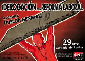 CNT contra la Reforma Laboral