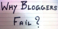 Reasons For Blogs to Fail