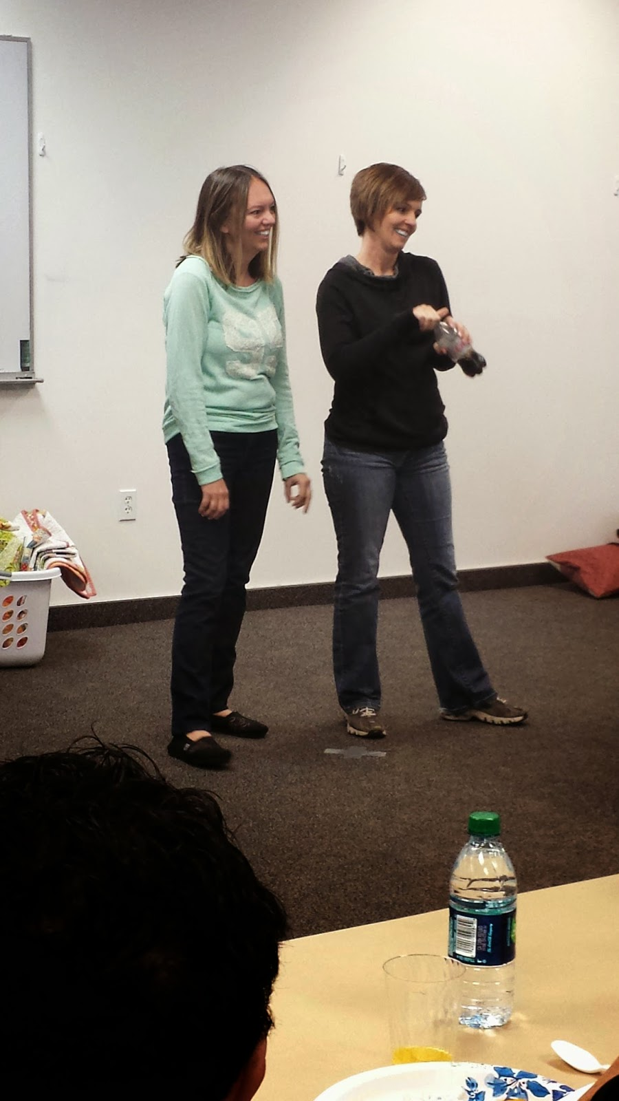 "Kari and Becky (Patti's daughters) Also shared thier new ""Craft it Forward"" idea"