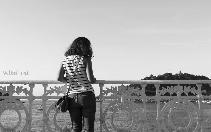 fotografía blanco negro san sebastián