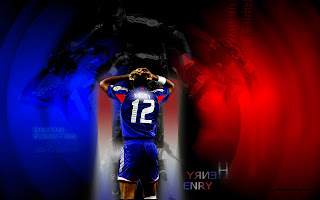 euro 2012 wallpaper player thiery henry