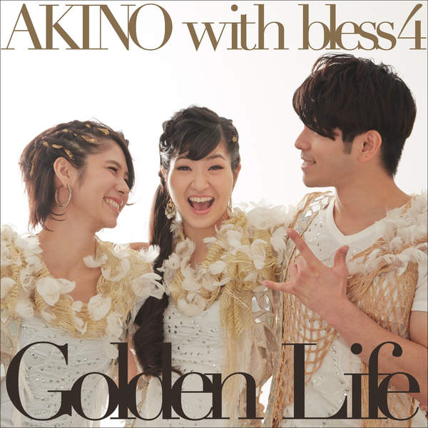 [Single] AKINO with bless4 – Golden Life / OVERNIGHT REVOLUTION (2016.01.27/MP3/RAR)
