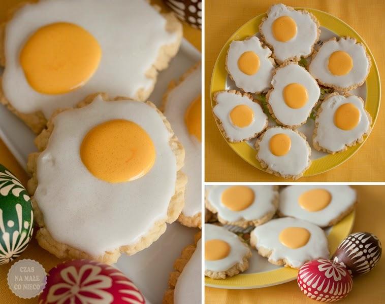 ciastka jak jaja sadzone