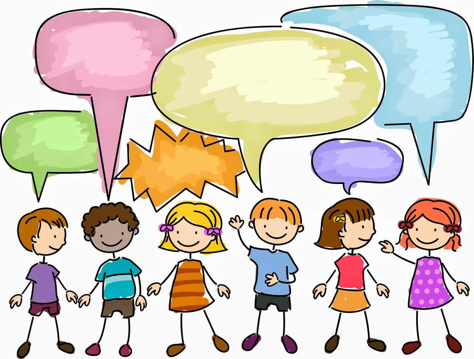 Image result for talk kid clip art