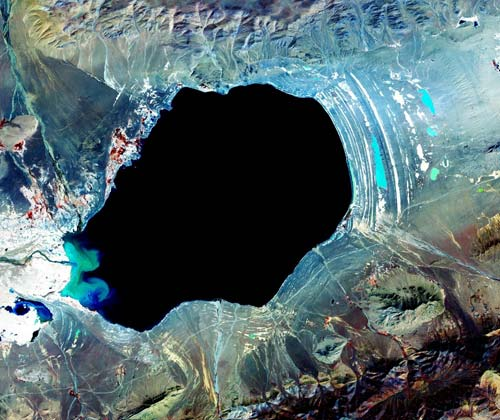 Danau Nam, Tibet