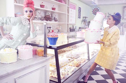 Amber Gray. Sweet. Fashion Photography. Marie Claire