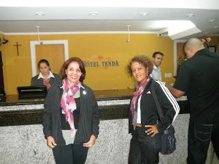 Recepção Hotel Tenda, Marília, SP