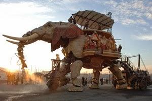 l'éléphant , les machines de l' ile , Nantes