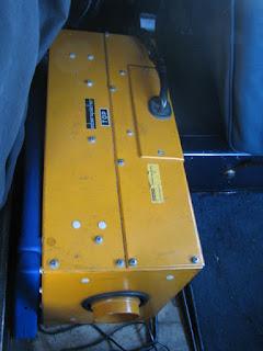 Propane Heater - Propanvärmare - För att hålla spanande poliser varma