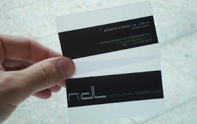 tarjetas de visita de plastico