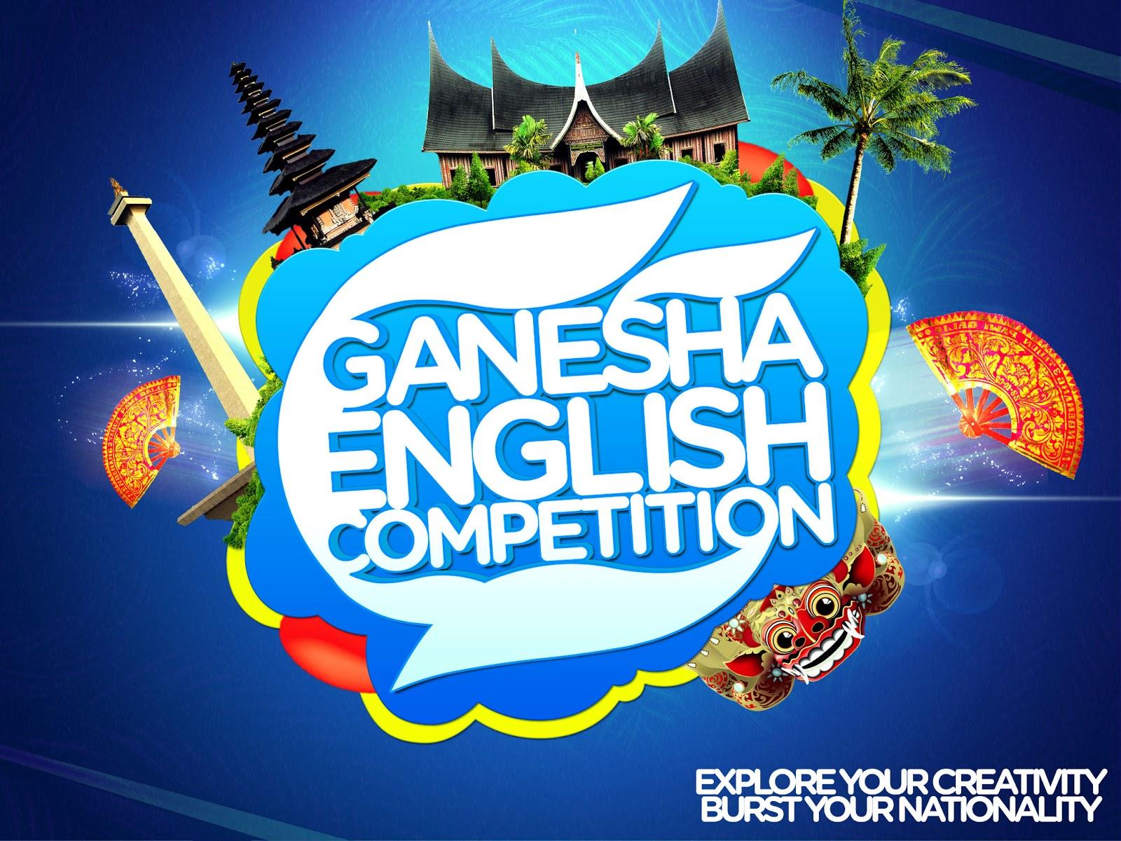 Tentang Ganesha English Competition (GECo) I
