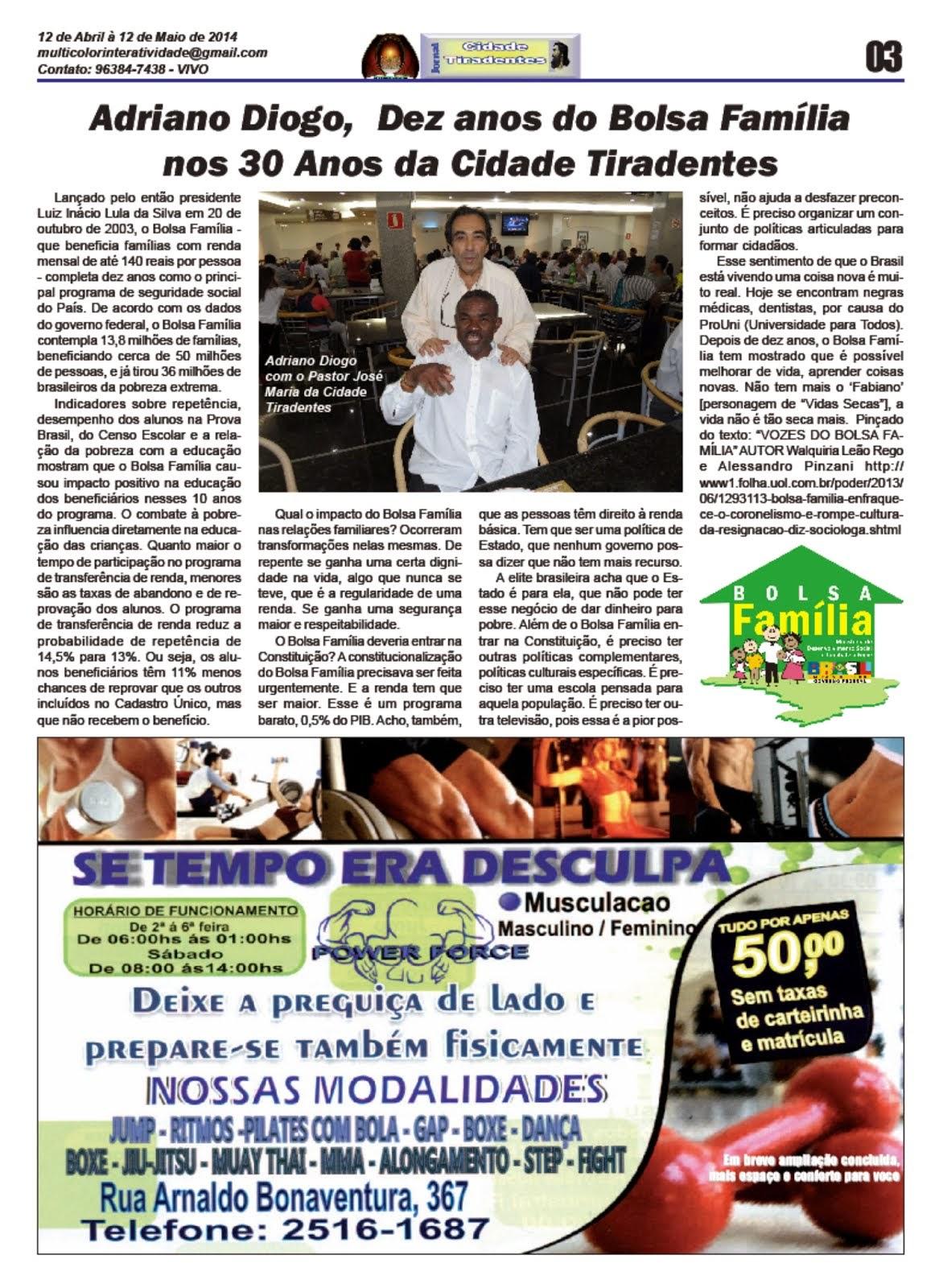 Jornal Cidade Tiradentes 54 Edição nº 54