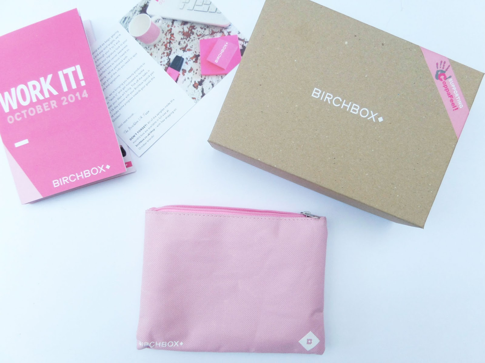 The October 2014 Birchbox | Work It | With CoppaFeel