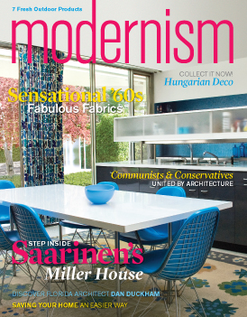 modernism is a quarterly magazine about 20th century modernist design