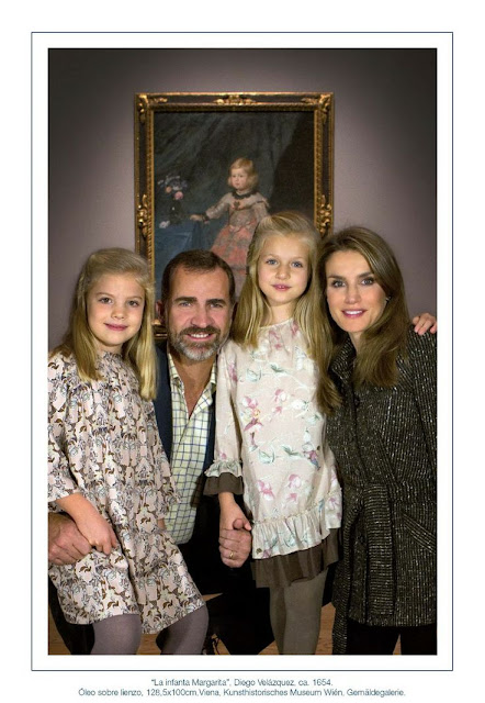 Spanish Royal Family Christmas Cards 2013