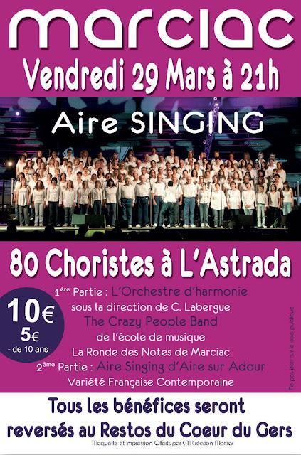 Aire Singing marciac 2013