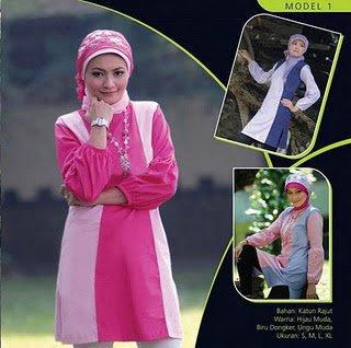 Mazaya Busana Muslim Pink Baby Ungu Muda