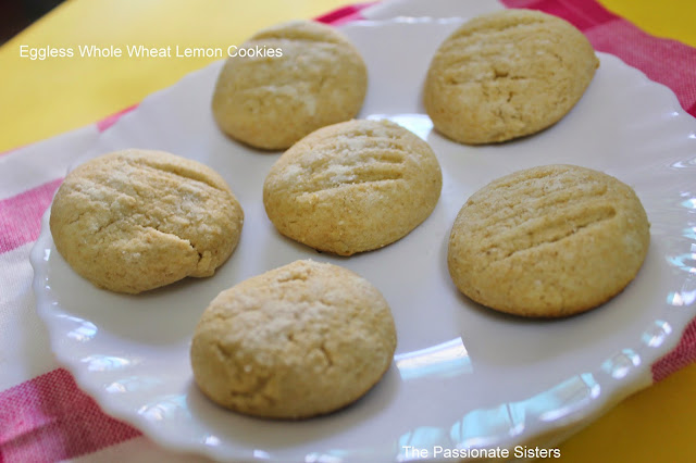 Whole wheat Lemon Cookies