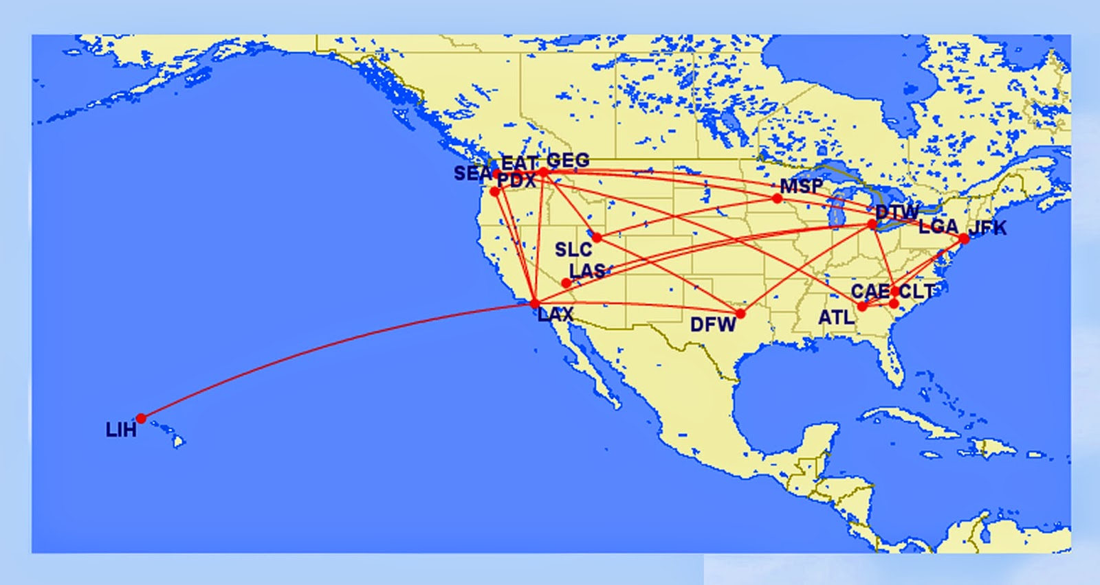 i have greatly benefitted by the battle in seattle between alaska delta airlines although my earlier thoughts this year regarding flying delta and