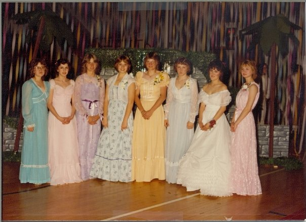 Prom dress 1980 greatest