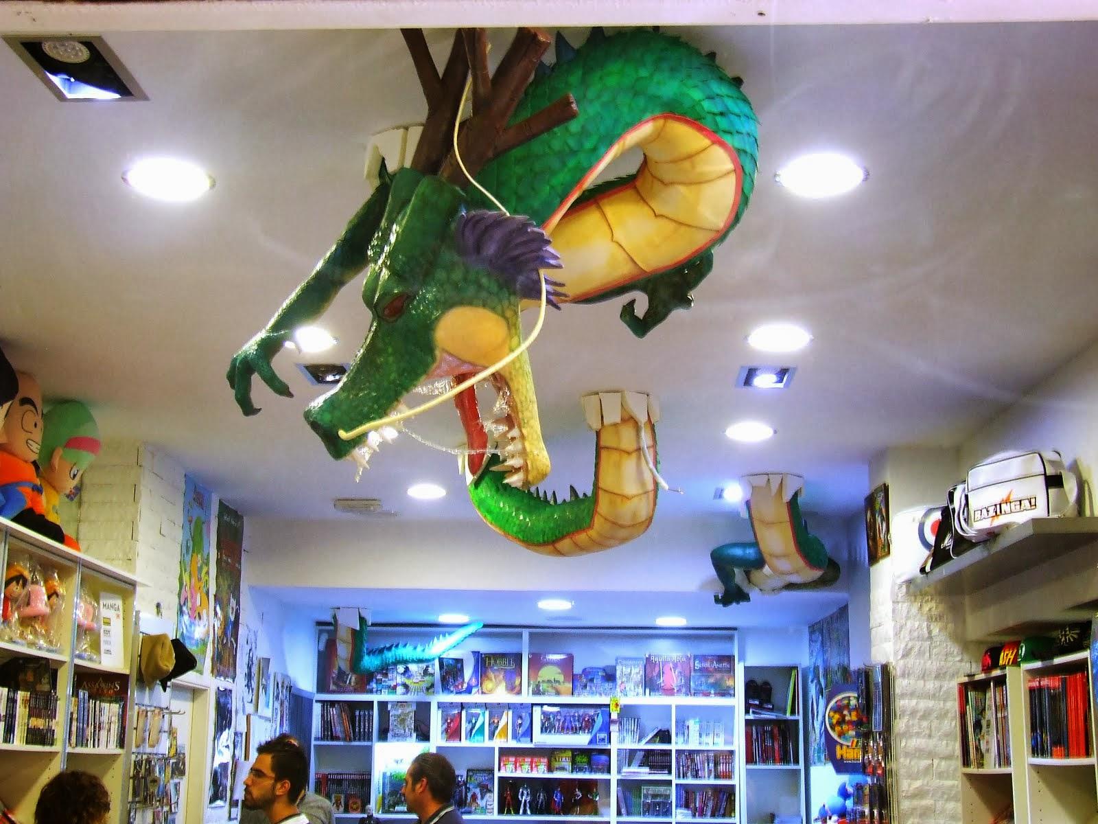 """Dragón Shenron de """"Dragon Boll"""""""