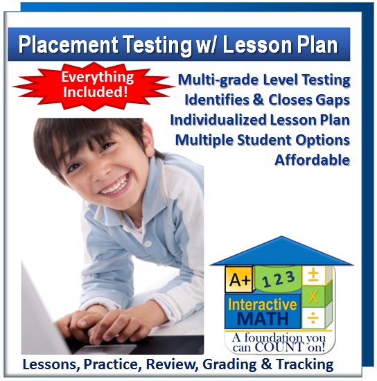 """Adaptive Placement Test w/ Individualized Lesson Plan"" Program"