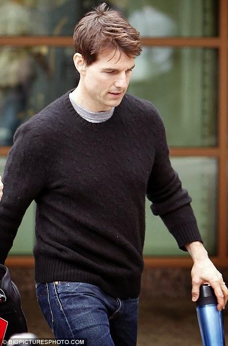 Tom Cruise Haircut Celebrity Magazine