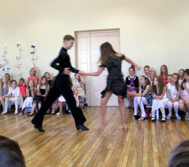 Meie tantsuõpetaja