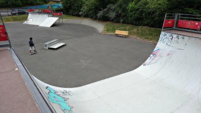 Skatepark Massy rampe