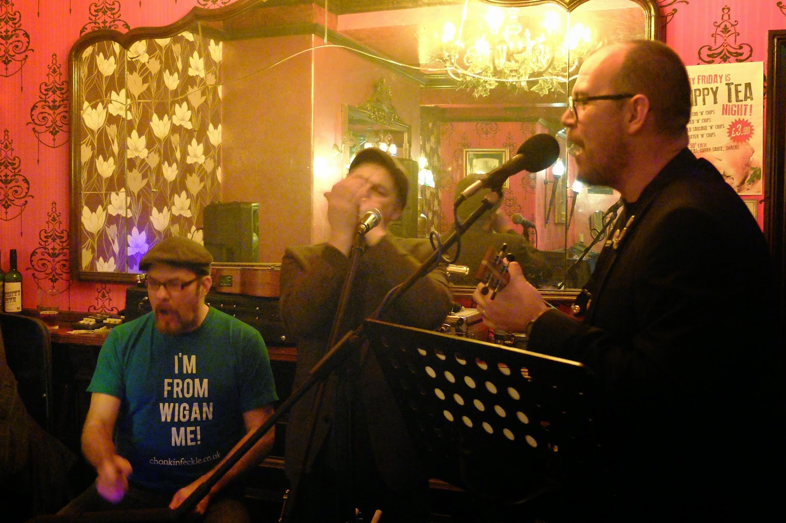 Chonkin Tunes Ukulele Open Mic Chonkinfeckle with Baz Maz