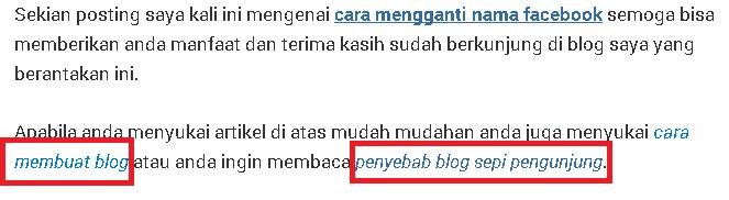 pentingnya internal link pada blog