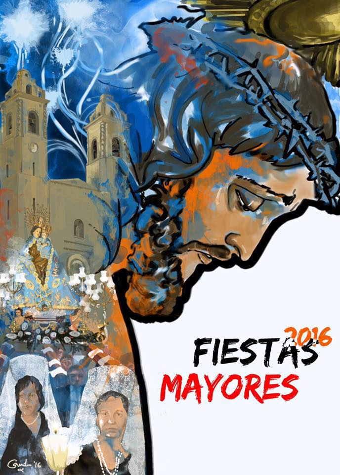 Cartel Fiestas Mayores 2016