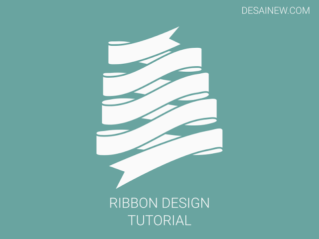 Ribbon Pita Design Tutorial Inkscape Adobe Illustrator Corel Draw
