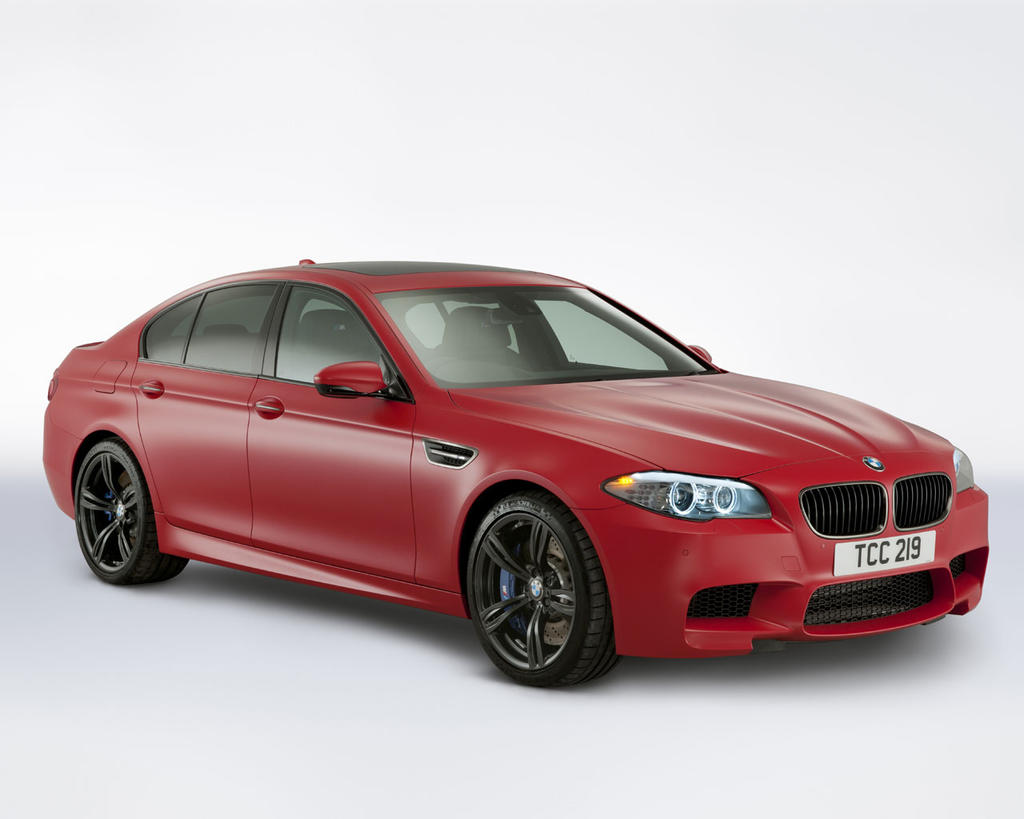 FAB WHEELS DIGEST (F.W.D.): 2012 BMW M5, M3 Performance Editions (UK)