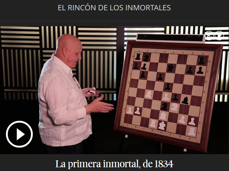 El RINCÓN DE LOS INMORTALES (VIDEOS)