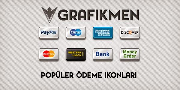 Ücretsiz 8 Popüler Ödeme ikonu