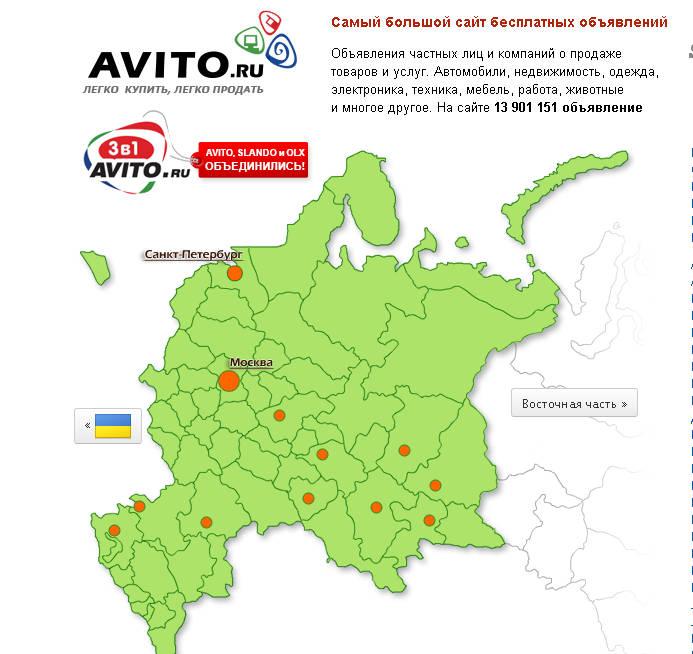 авито авто ру по всей россии способом поиска