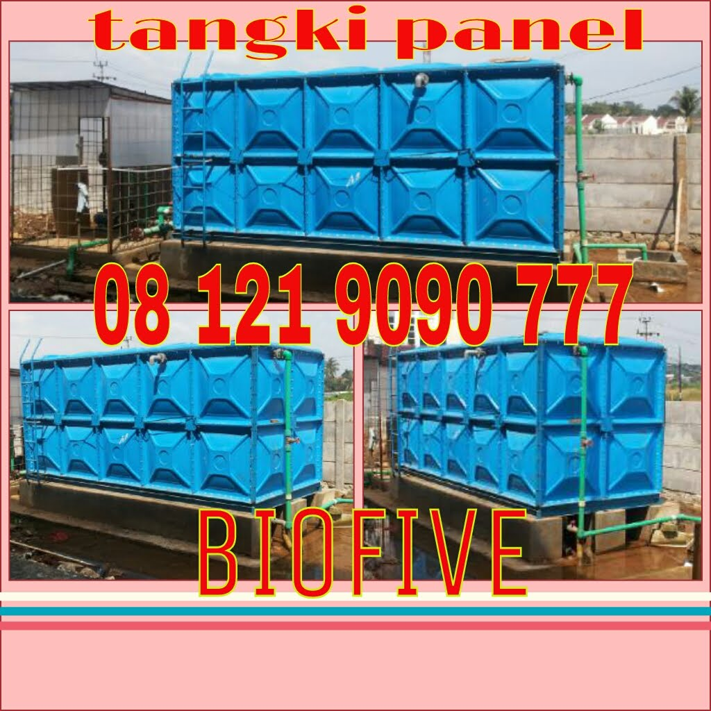 Tangki Air Panel FRP ( Roof Tank )