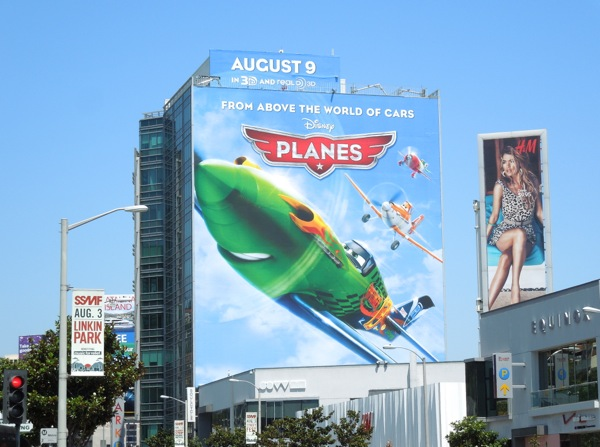 Giant Disney Planes billboard