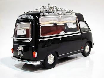 """FIAT 600 D Multipla """"Hearse Wagon"""" '62 - La Mini Miniera / Premium ClassiXXs"""