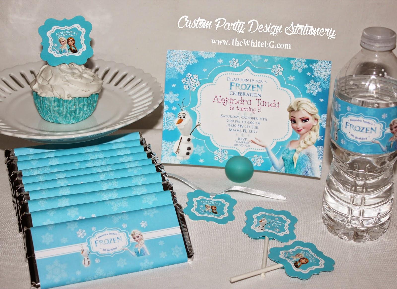 Disney 39 S Frozen Theme Birthday Party Ideas Free