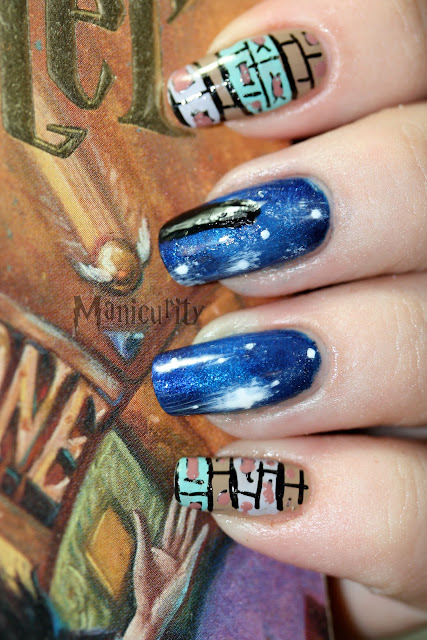 Harry Potter and the Sorcerer's Stone nails vertical