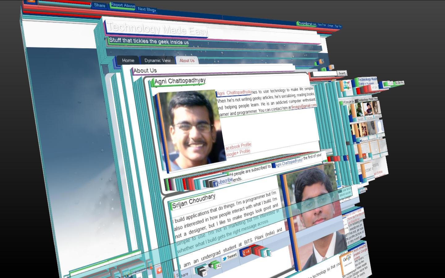View Any Web Page In 3d With Firefox 11 Technology Made Easy