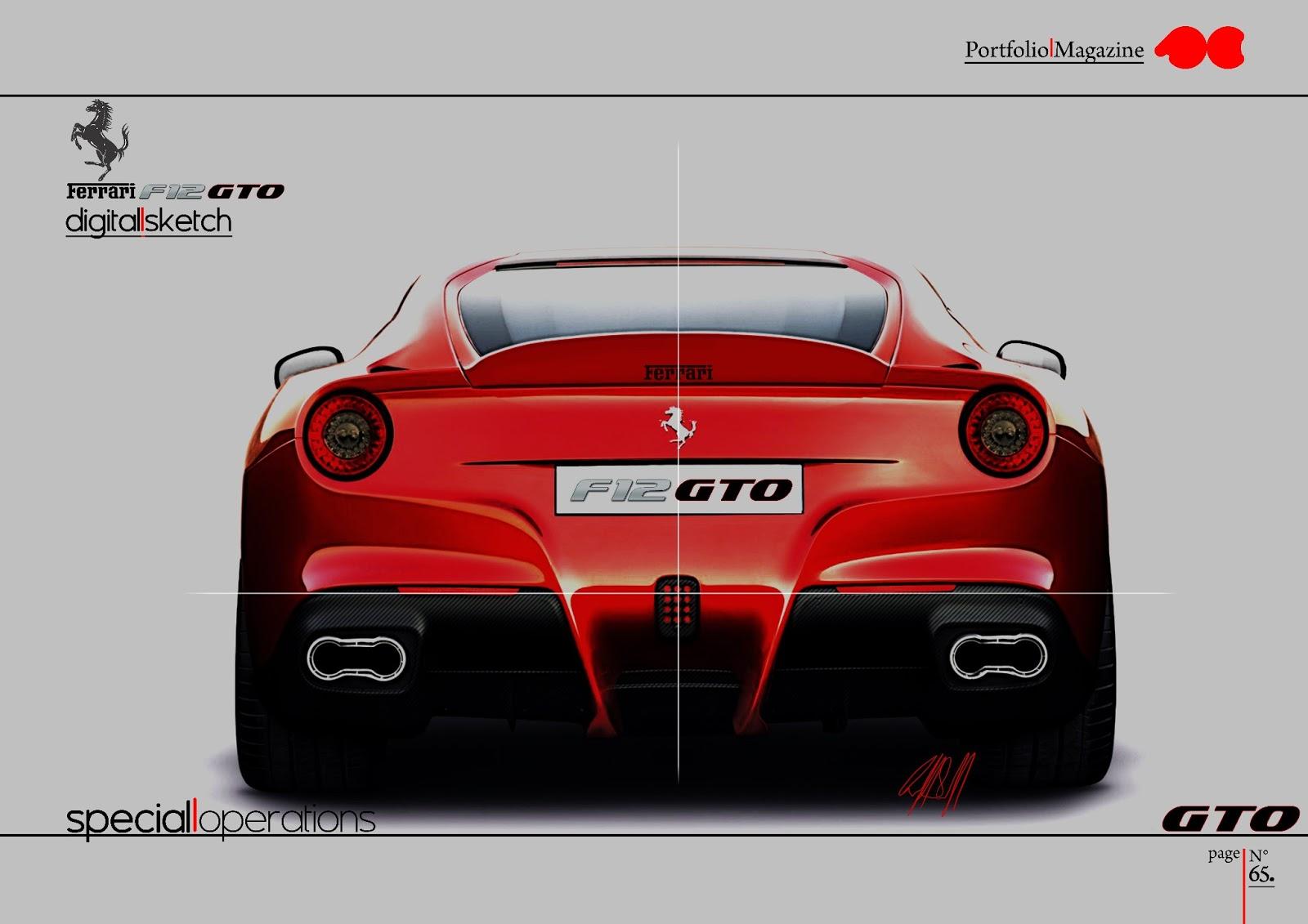 Ferrari F12 Gto Salvatore Cutaia Design
